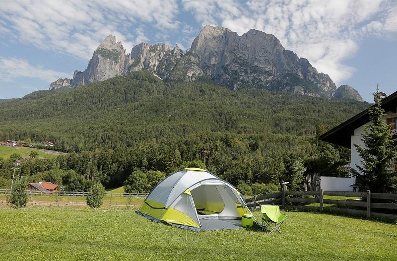 Oprema za kampiranje: šator