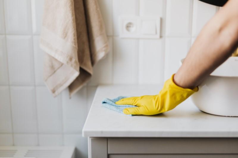Redovno čišćenje kuća i stanova - kupaonica