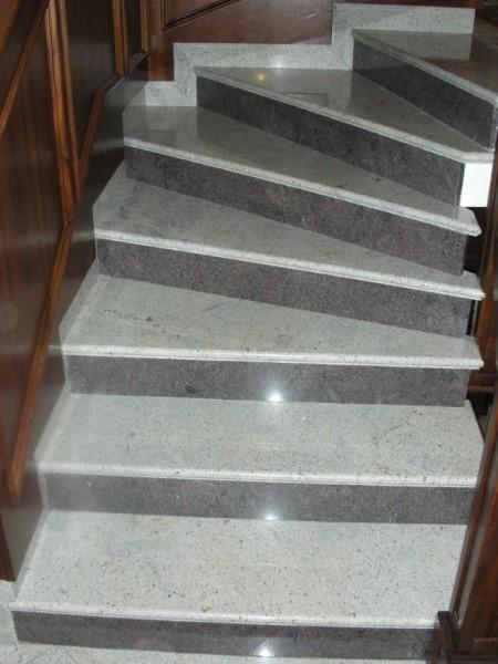 Stepenice iz kamena - Kashmir White/Paradiso Classico
